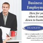 How we advertised Headleys Solicitors…